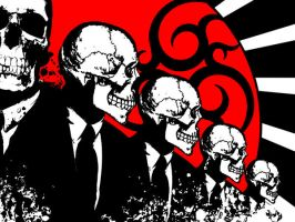 Skull Wallpaper by darkknight1986