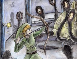Link vs Bellum by yurionna