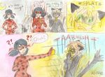 Ladybug and Chat Noir - Don't scare a ladybug by Starshinesoldier
