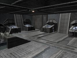 Halo Map: Dissection Court 3 by KindiChan
