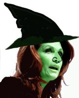 Michelle Bachman: The Wicked Witch of The West by CayQel-Dromathegood1