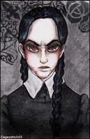 Wednesday Addams by Cageyshick05