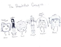 The breakfast groupies by dmperaino