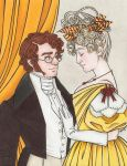 VIRAGO: At the Ball, 1828 by cillabub