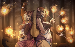 Firedance / Collaboration by Ryltha
