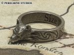 Hircine's Ring (Stainless Steel) by PeregrineStudios