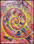 spirale red yellow by santosam81