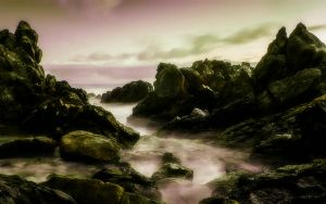 This Rocky Coast 3 by welshdragon