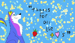 Thank You! by cookiefur