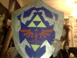 Hyrule Shield by KittiofDOOM