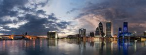 Downtown Jacksonville Panorama by sciph