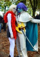 Cindry and Zelgadis at Lucca 2012 by TheBurningWitch