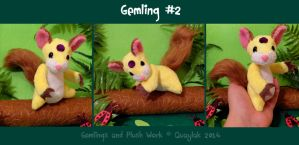 Plush: Gemling #2 by Quaylak