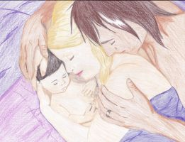 Naptime wirth Their Little Angel by ForeverFallen16