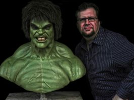 Ferrigno Contemporary Hulk by JoynerStudio