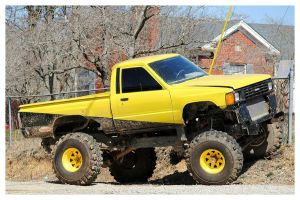 Yellow Toyota 4x4 by TheMan268