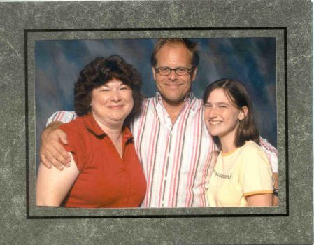 Me, Mom, and Alton Brown by ChibiCelloChick