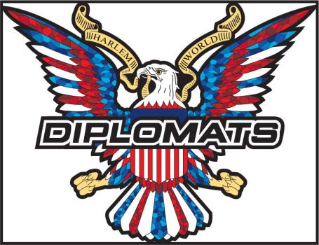 Diplomats Logo Stained Glass by Ghostdeini