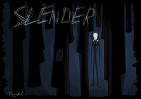 doodleage - SLENDER by ConkerTSquirrel