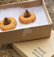 Peanut Butter Blossom Charms by MouseEmporium
