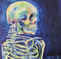 Skeleton study by Silent-Pea