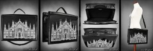 Cathedral suitcase by Euflonica