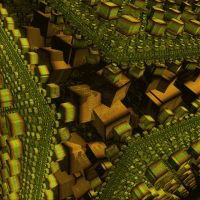 Squares Fractal Animation by Lion6255