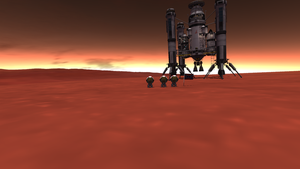 Flag Planted on Duna by menalaos1971