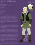 Rune Reference sheet by yamilink