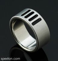 """Palmer"" Ring by Spexton"