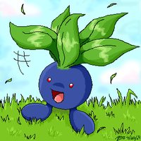 An Oddish Hello! by crayon-chewer