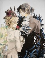 Gil and Oz in Watercolour... by JayCosplay