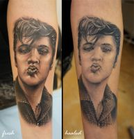 Elvis Healed by grimmy3d