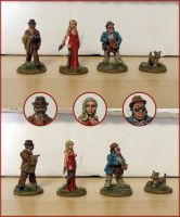 Miniatures - Assorted Pulp 4 by Bjerg