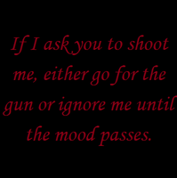 Shoot Me by Kitty1205