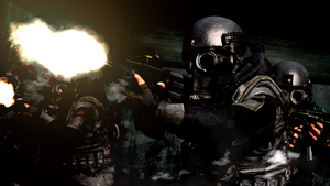 Tactical Russian Zombie Killers by LordHayabusa357