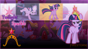 Pony Action - Twilight Sparkle by Firestorm-CAN