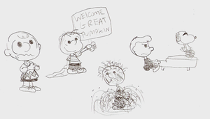 Peanuts Doodles by LimeTH