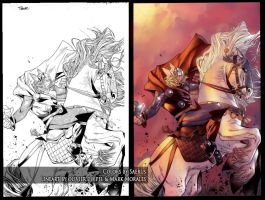Thor by Mark Morales by Saerus-Coloring