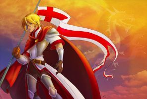 Saint George by CapnFlynn