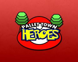 Pallet Town Heroes Logo by Smyf