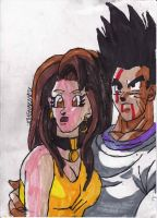 Goten and his Girlfriend by ChahlesXavier