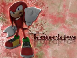 Knuckles by xCaliKidx