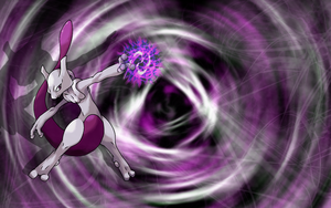 Mewtwo Wallpaper by Azerik92
