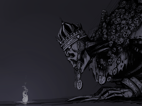 High Lord Wolnir by Underpable