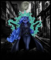 Luna The Dark Dealer movie poster by coonk9