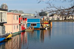 Boat Houses by portraitofadoll