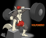 Vulponero Heavy Lifting Awesomeness for M.Contest by UTX-ShapeShifter