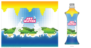 Art Water Pixel Water by Dee-A