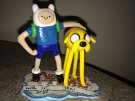 Adventure Time Finn and Jake commission by KarolinaSkaUniverse
